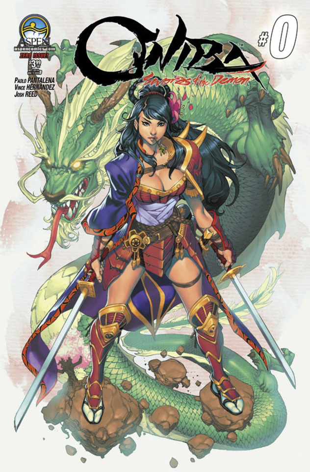 Oniba: Swords of the Demon #0 (Direct Market Cover B)