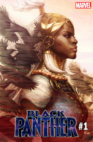 Black Panther #1 (Artgerm Cover)