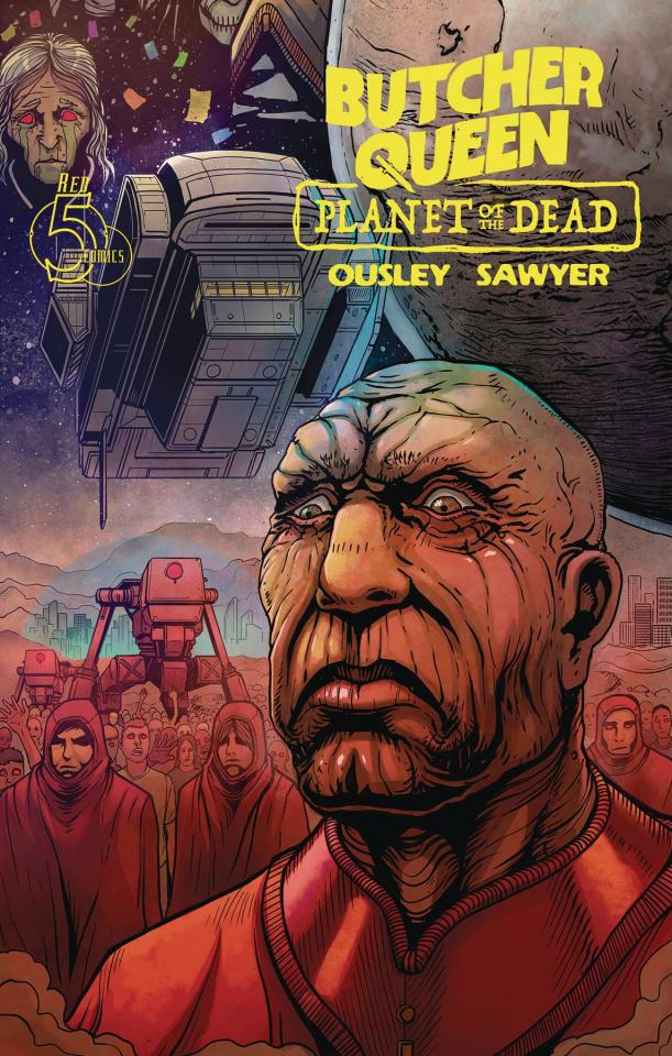 Butcher Queen: Planet of the Dead #3