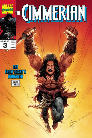 The Cimmerian: The Frost Giant's Daughter #3 (Casas Cover)