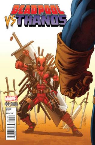 Deadpool vs. Thanos #2 (Lim Cover)