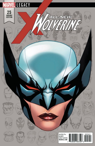 All-New Wolverine #25 (McKone Legacy Headshot Cover)