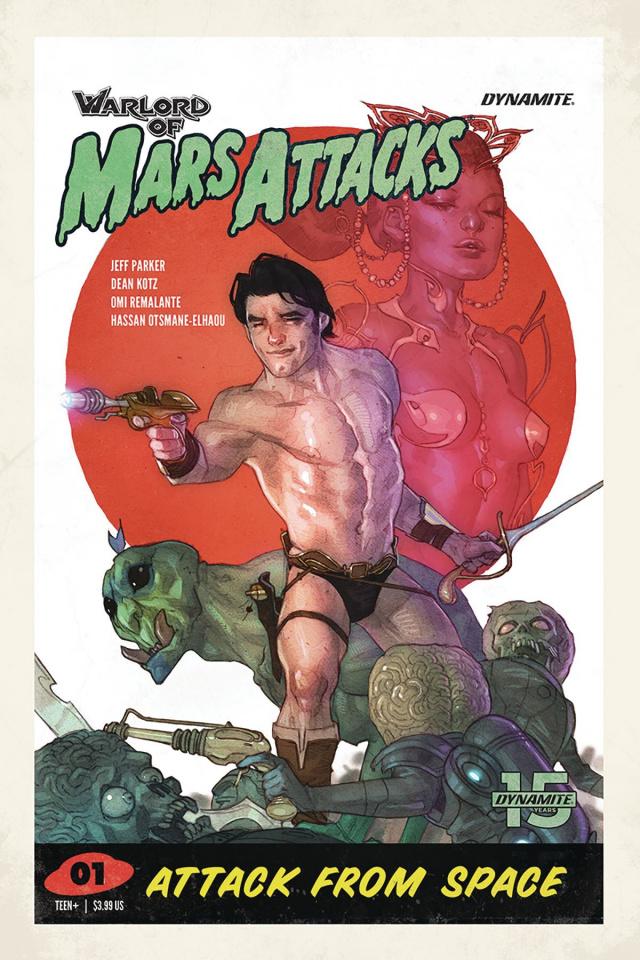 Warlord of Mars Attacks #1 (Caldwell Cover)