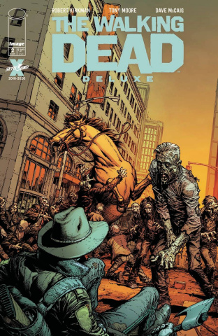 The Walking Dead Deluxe #2 (Finch & McCaig Cover)