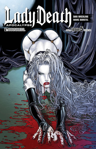 Lady Death: Apocalypse #5 (Sultry Cover)