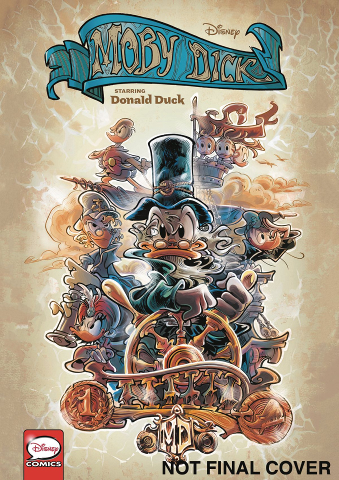 Moby Dick, Starring Donald Duck