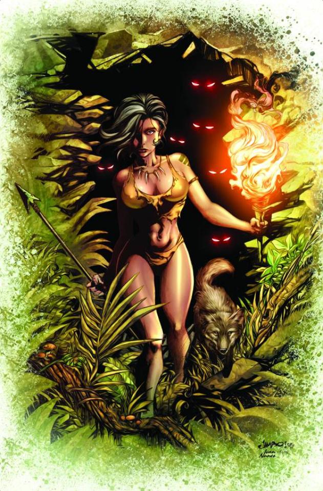 Grimm Fairy Tales: The Jungle Book - Last of the Species #3 (Salgado Cover)