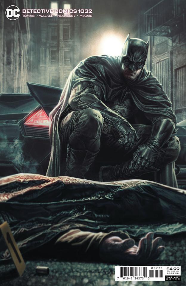 Detective Comics #1032 (Lee Bermejo Card Stock Cover)