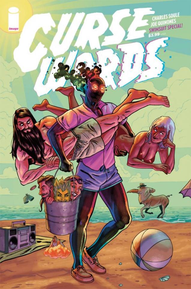 Curse Words Summer Special #1 (Quinones Cover)