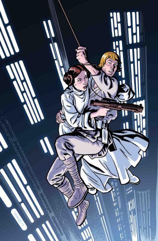Star Wars: Poe Dameron #19 (40th Anniversary Cover)