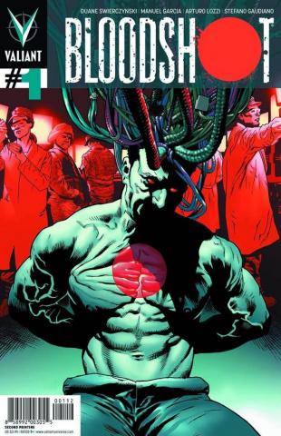 Bloodshot #1 (2nd Printing)