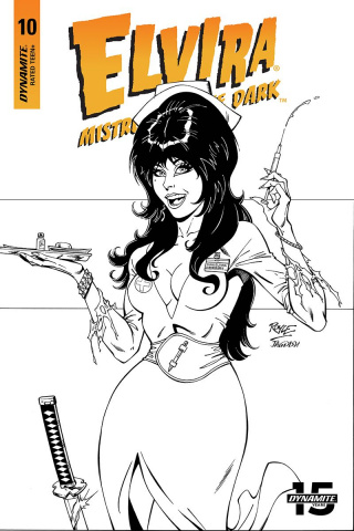 Elvira: Mistress of the Dark #10 (20 Copy Royle B&W Cover)