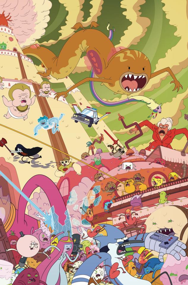 Adventure Time: Regular Show #4