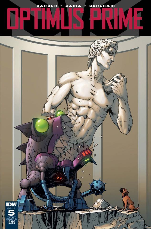 Optimus Prime #5 (Subscription Cover)