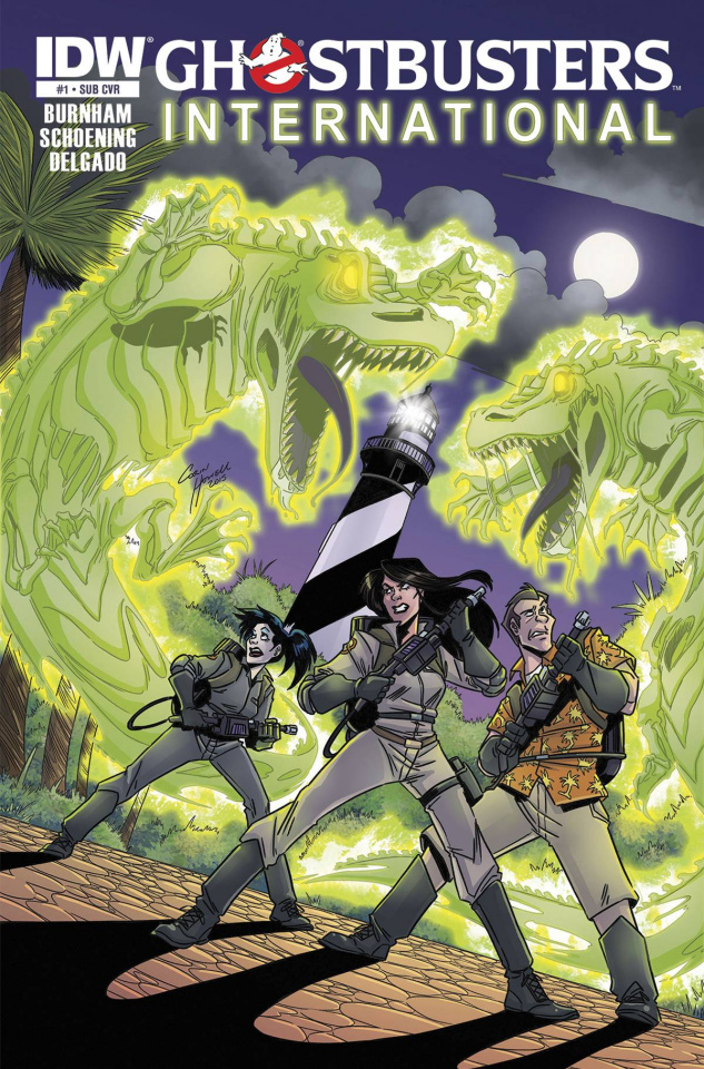 Ghostbusters International #1 (Subscription Cover)