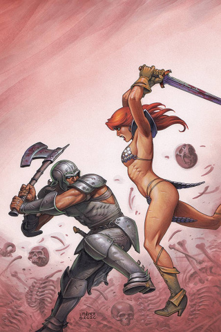 Red Sonja: The Price of Blood #2 (Linsner Virgin Cover)
