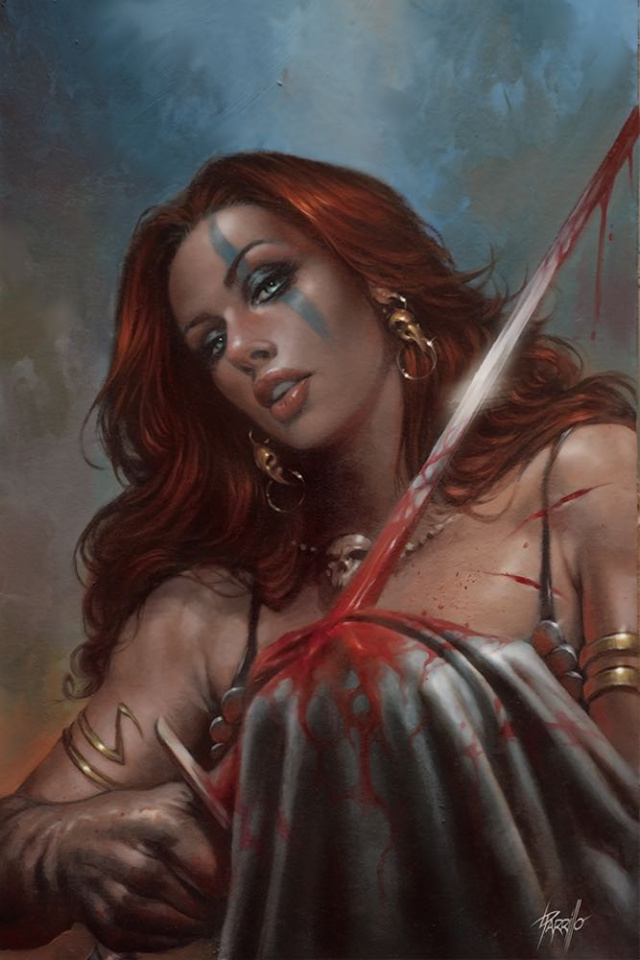 Red Sonja: Birth of the She-Devil #4 (Parillo Virgin Cover)