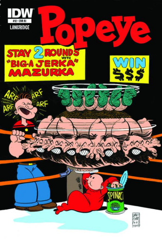 Popeye #12 (10 Copy Cover)