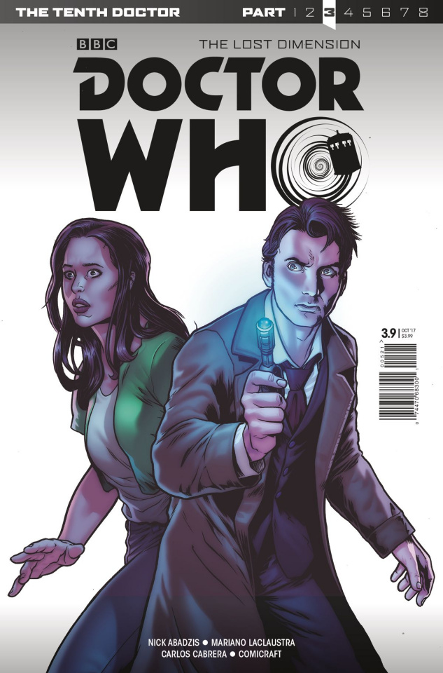 Doctor Who: New Adventures with the Tenth Doctor, Year Three #9 (Bettin Cover)