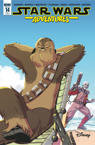 Star Wars Adventures #14 (10 Copy Jampole Cover)