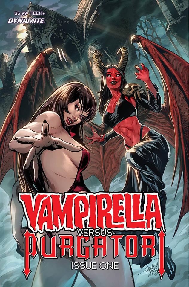 Vampirella vs. Purgatori #1 (Pagulayan Cover)