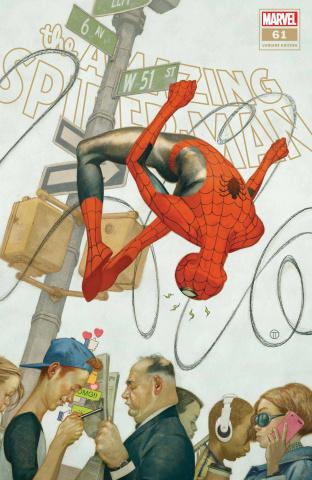 The Amazing Spider-Man #61 (Tedesco Cover)