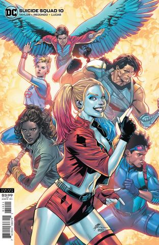 Suicide Squad #10 (Travis Moore Cover)