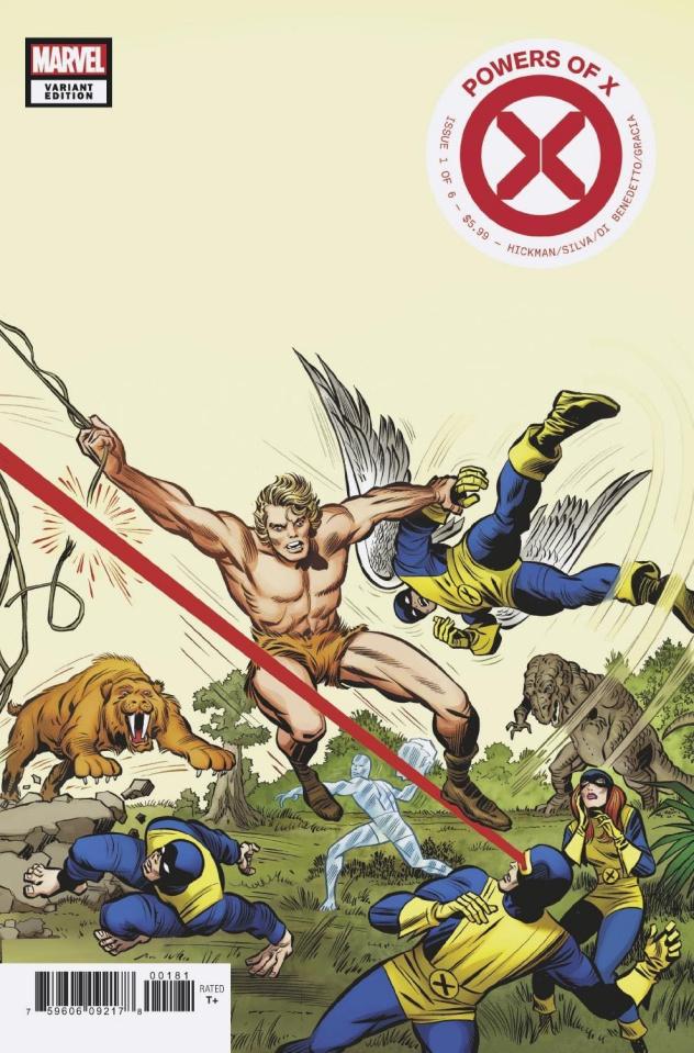 Powers of X #1 (Kirby Hidden Gem Cover)