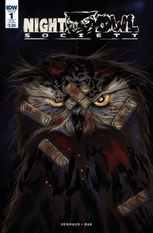 Night Owl Society #1 (Subscription Cover)