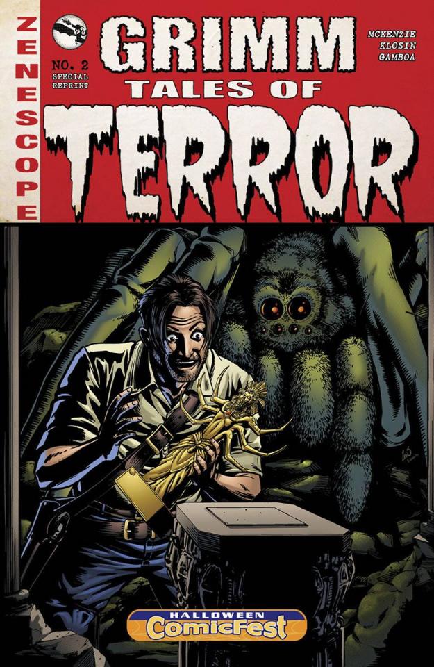Grimm Tales of Terror: Web of Deceit (Halloween ComicFest 2015)