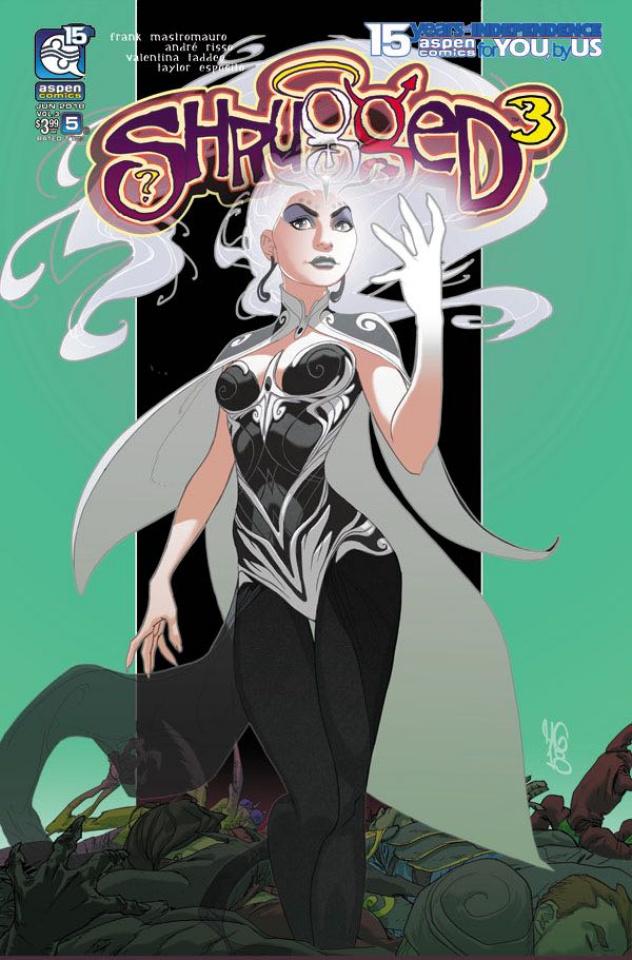 Shrugged #5 (Gunnell Cover)