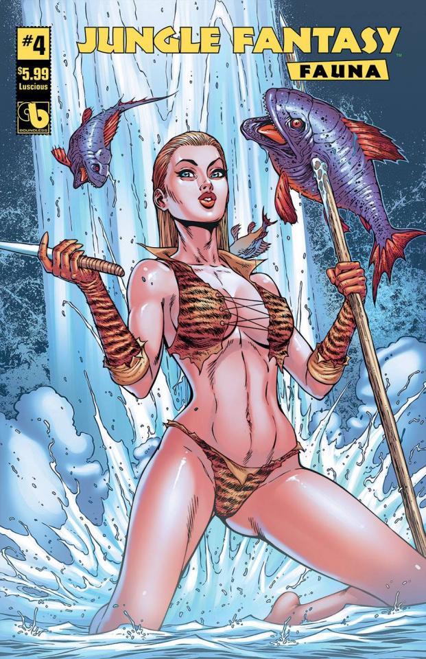 Jungle Fantasy: Fauna #4 (Luscious Cover)