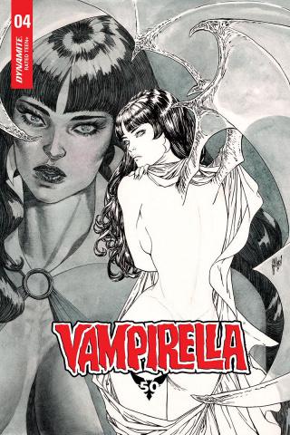 Vampirella #4 (50 Copy March B&W Cover)