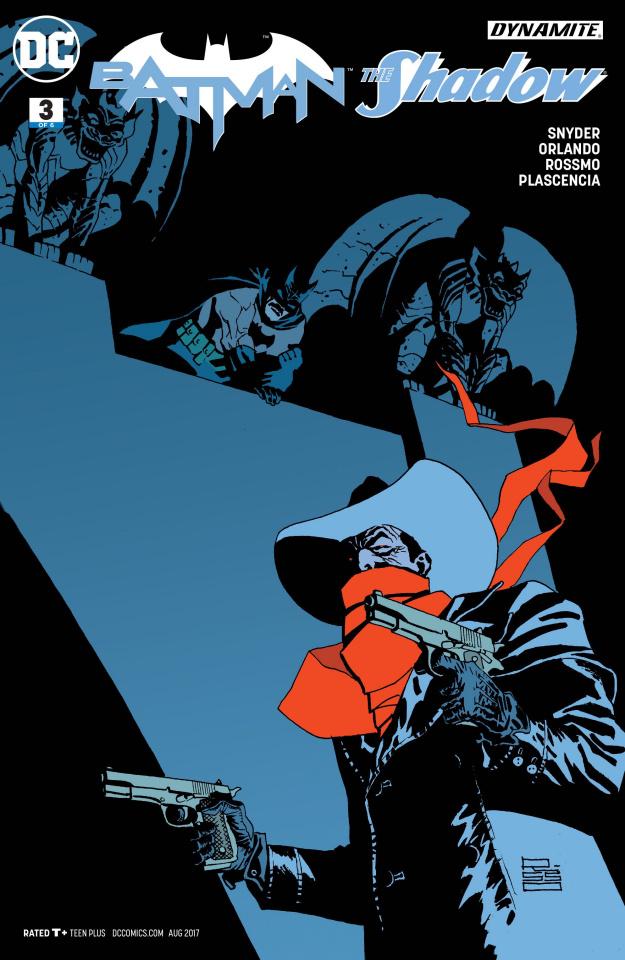 Batman / The Shadow #3 (Risso Variant Cover)