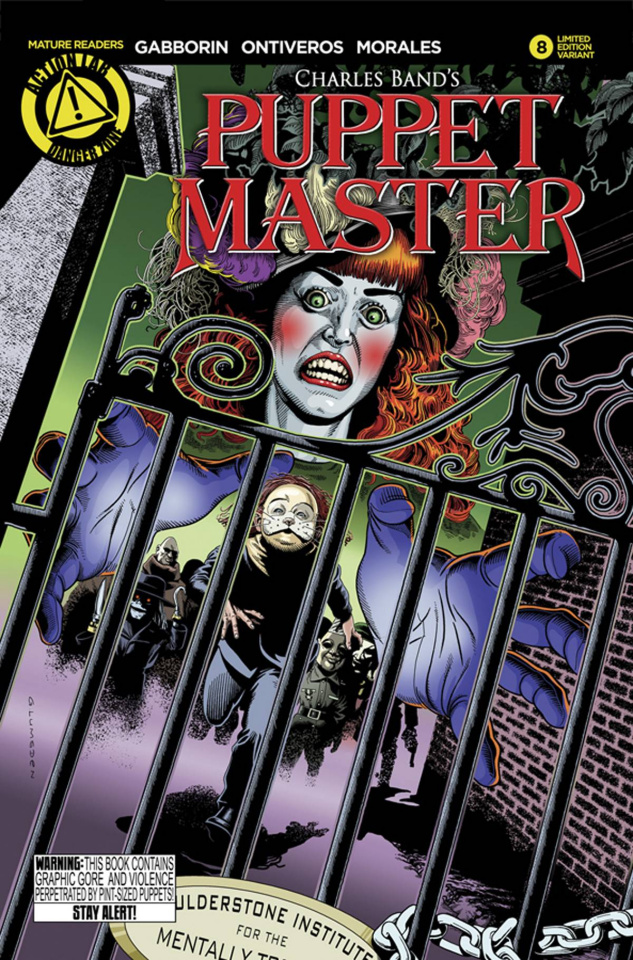 Puppet Master #8 (Lumsden Cover)