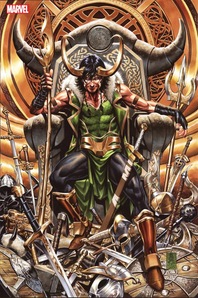 Loki Vol. 1 (Omnibus Brooks Cover)