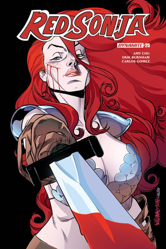 Red Sonja #25 (Williams Cover)