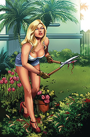 Paradise Court #4 (Otero Cover)