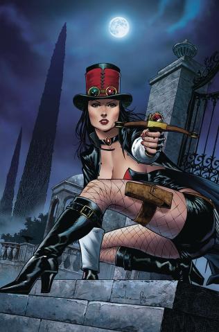 Grimm Fairy Tales: Van Helsing vs. Frankenstein #1 (Meloni Cover)