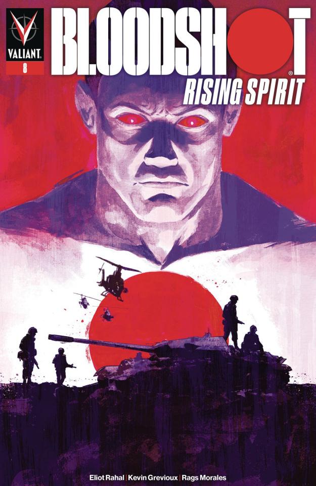 Bloodshot: Rising Spirit #8 (Walsh Cover)