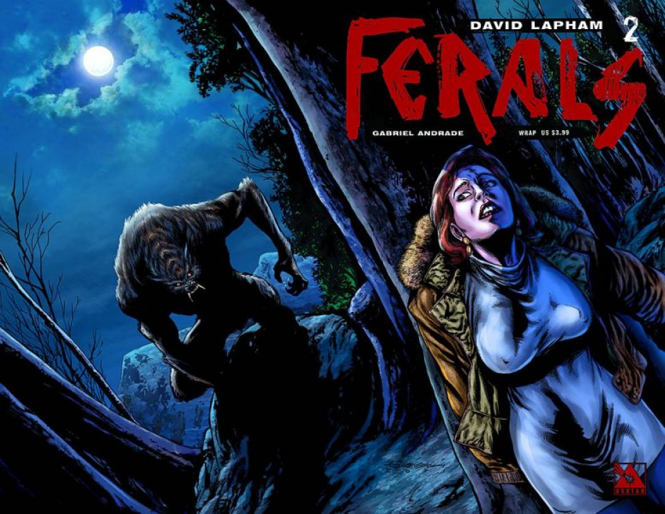Ferals #2 (Wrap Cover)