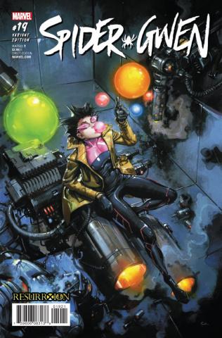Spider-Gwen #19 (Crain ResurrXion Cover)