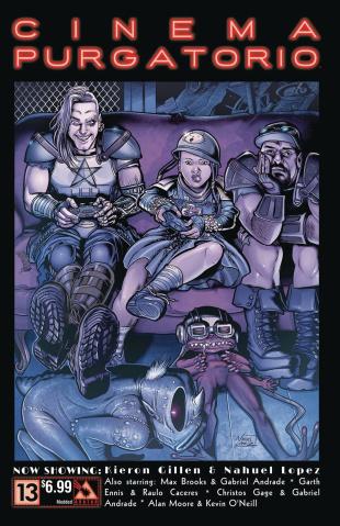 Cinema Purgatorio #13 (Modded Cover)