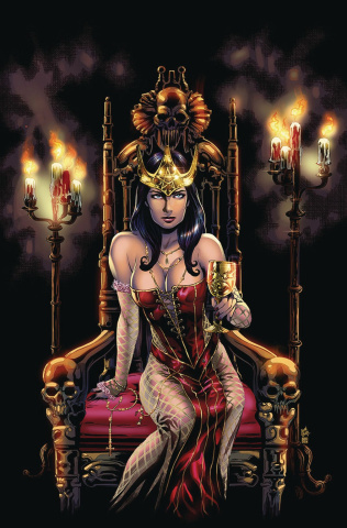 Grimm Fairy Tales: Day of the Dead #6 (Otero Cover)