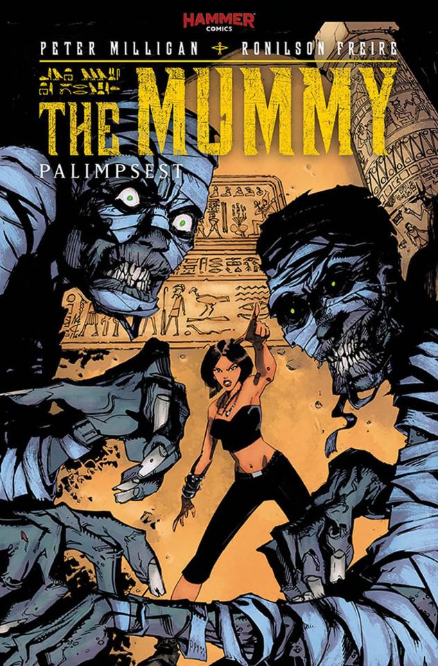 The Mummy #3 (McCrea Cover)
