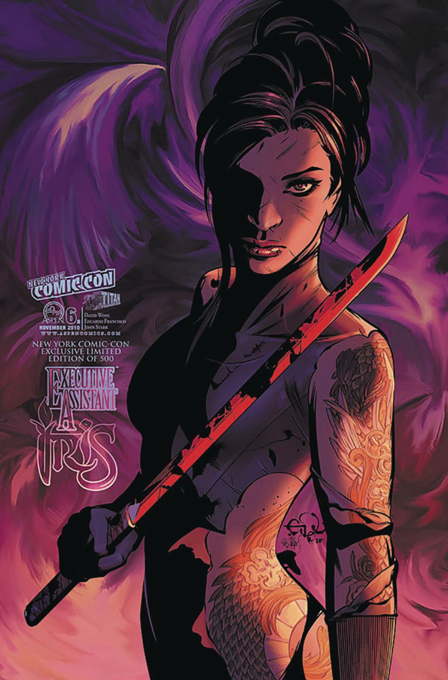 Executive Assistant Iris #6 (NYCC 2018 Cover)
