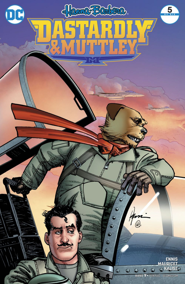 Dastardly and Muttley #5 (Variant Cover)