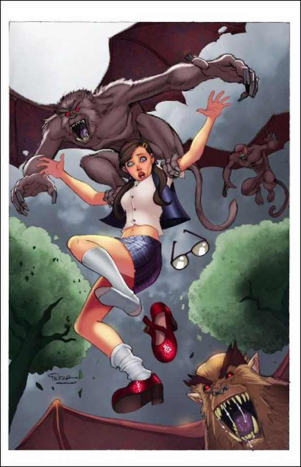 Grimm Fairy Tales: The Library #4