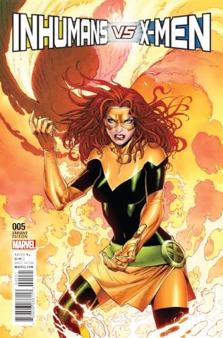 IvX #5 (Syaf X-Men Cover)