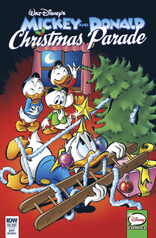 Mickey and Donald: Christmas Parade #2 (Subscription Cover)